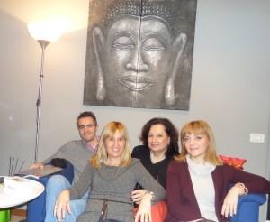 Ilaria, Andrea, Roberta e Maddalena