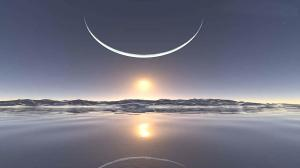 winter-solstice-scenery-moon