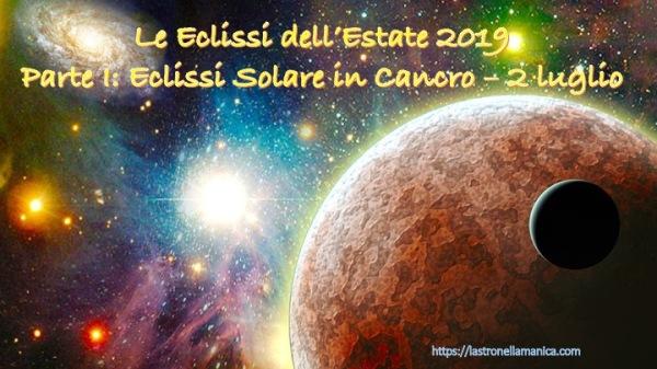 ECLISSI LUGLIO 2019