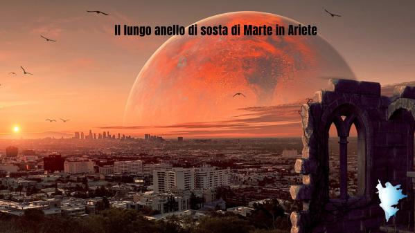 Il lungo anello di sosta di Marte in Ariete